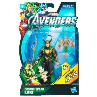 Marvel Avengers Movie 4 Inch Action Figure Cosmic Spear Loki