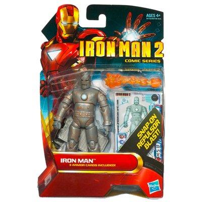"Marvel Iron Man 2 Movie 3 3/4"" Comic Series Iron Man Action Figure"