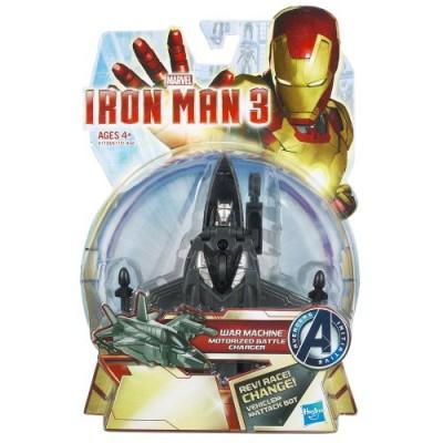 Marvel Iron Man 3 War Machine Motorized Battle Charger Vehicle