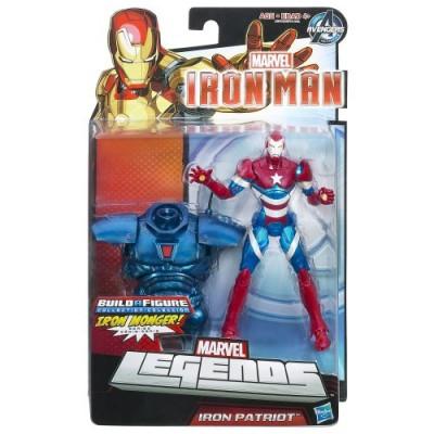 Marvel Iron Man Iron Patriot Figure 6 Inches