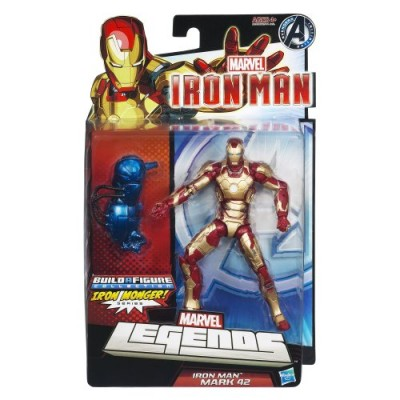 Marvel Iron Man Marvel Legends Iron Man Mark 42 Figure 6 Inches