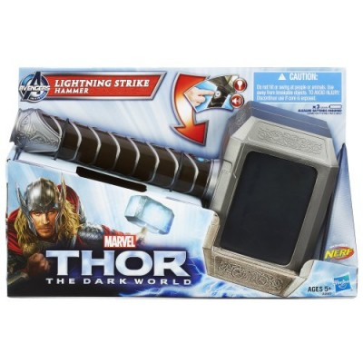 Marvel Thor The Dark World Lightning Strike Hammer