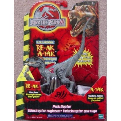 Pack Raptor from Jurassic Park III Electronic RE-AK A-TAK Action Figure