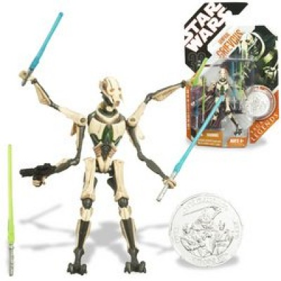 "Star Wars 3 3/4"" Basic Figure General Grievous 4-ARM"