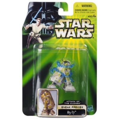Star Wars Attack of the Clone Sneak Preview R3-T7 Action Figure