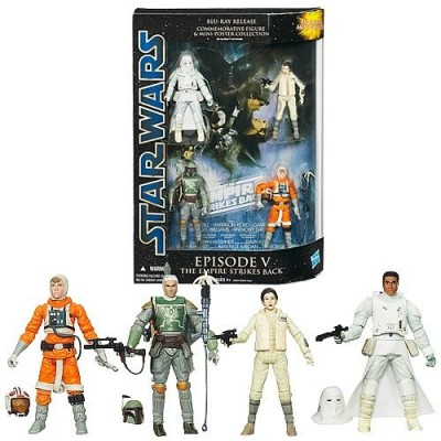 Star Wars Commemorative Collection Episode 5 Action Figures