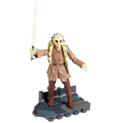 Star Wars Episode III 3 Revenge of the Sith KIT FISTO Jedi Master Figure #22