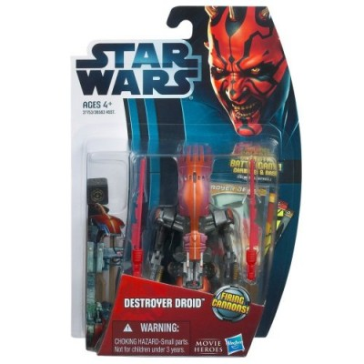 Star Wars: Movie Legends 2012 Episode I The Phantom Menace 3.75 inch Destroyer Droid Action Figure by Hasbro