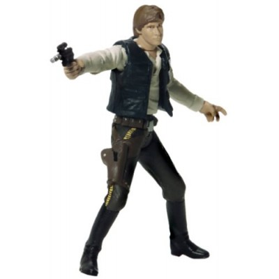 Star Wars (Return Of The Jedi) Action Figure - Han Solo (Endor Raid)