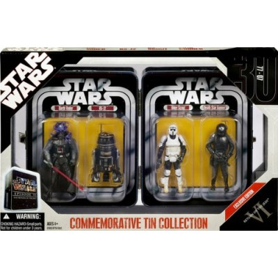 Star Wars Return of the Jedi Commemorative Tin Collection with 4 Figures
