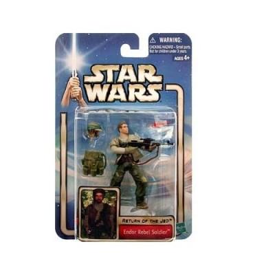 Star Wars Return of the Jedi Endor Rebel Soldier Action