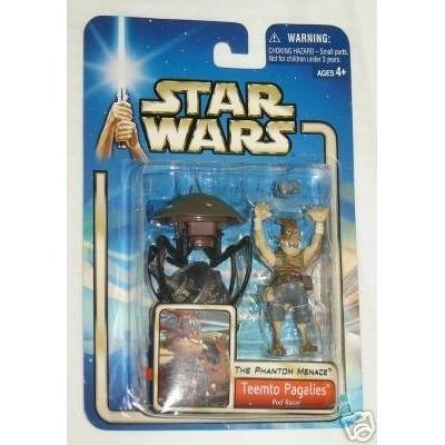 Star Wars The Phantom Menace Teemto Pagalies Pod Racer Action Figure