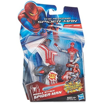 The Amazing Spider-Man Missle Attack Spider-Man 3.75 inch Action Figure