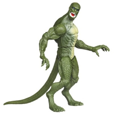 The Amazing Spider-Man Web Battlers Slash Attack Lizard Figure