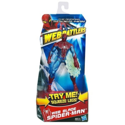 The Amazing Spider-Man Web Battlers Web Blade Spider-Man Figure