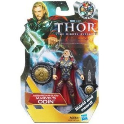 Thor: The Mighty Avenger Action Figure # 13 Asgardian Glow Marvel's Odin 3.75 Inch