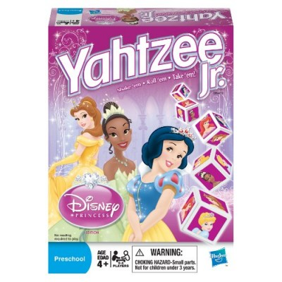 Yahtzee Jr. Disney Princess Edition