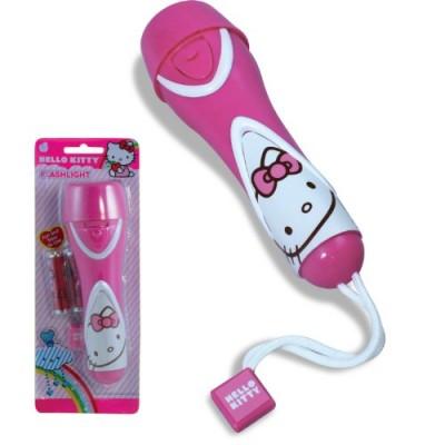 Hello Kitty LED Flashligh - Pink (30099)