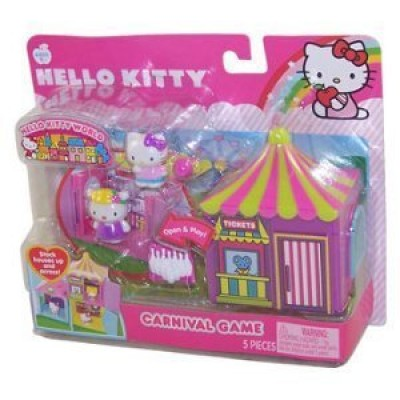 Sanrio Hello Kitty Neighborhood Playset - Carnival Game