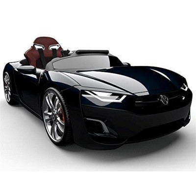 Henes Broon F830 with Tablet PC 12V Kids Ride On Car Electric Powered Wheels MP3 Remote Control RC Black
