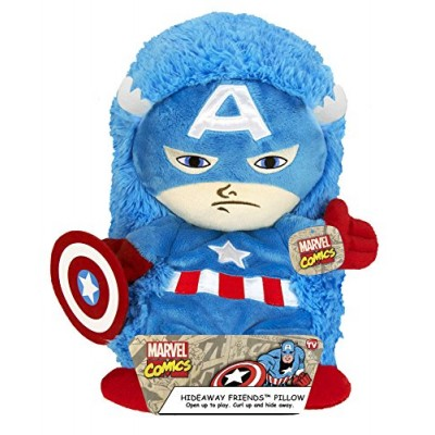 Hide Away Pets Marvel Captain America, 14""