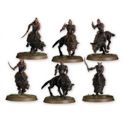 Citadel Games Workshop the Hobbit an Unexpected Journey Strategy Battle Game Hunter Orcs on Fell Wargs