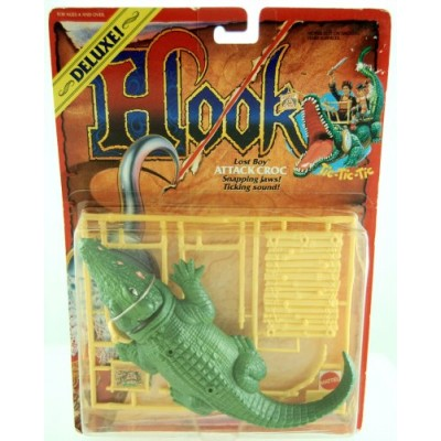 1991 - Hook - Deluxe - Lost Boy Attack Croc - Snapping Jaws & Ticking Sound - Limited Edition - Collectible