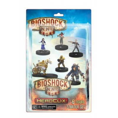 BioShock Infinite HeroClix 6 Figure Starter Set