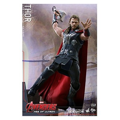 "Hot Toys Marvel Avengers Age of Ultron Thor Chris Hemsworth 1/6 Scale 12"" Figure"