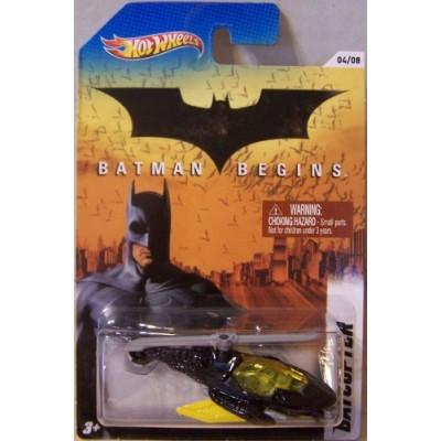 Hot Wheels 2012 Batman Series #4 of 8 Batman Begins BATCOPTER 1:64 Scale