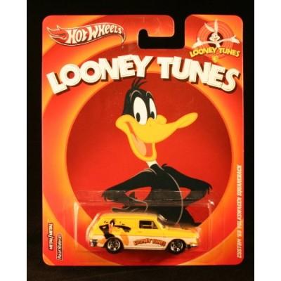 Hot Wheels, Looney Tunes Die-Cast Vehicle, Daffy Duck Custom '69 Volkswagen Squareback, 1:64 Scale