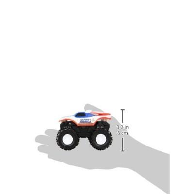 Hot Wheels Monster Jam Rev Tredz Captain America Die-Cast Vehicle