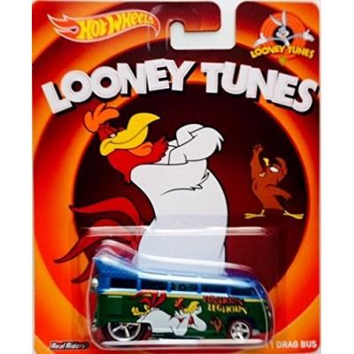 Hot Wheels Pop Culture Looney Tunes Series - Volkswagen T1 Drag Bus