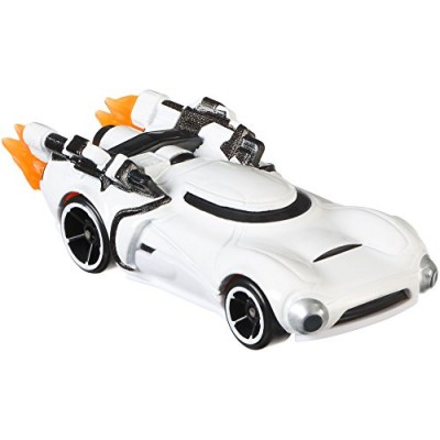 Hot Wheels Star Wars Rogue One Character Car, First Order Flametrooper (Clean)