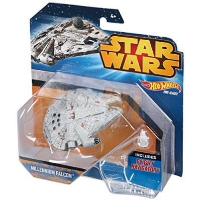 Hot Wheels Star Wars Starship Millenium Falcon Vehicle