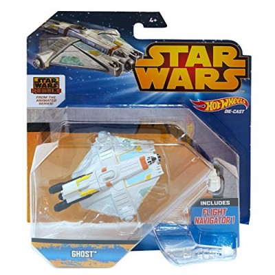 Hot Wheels Star Wars Starship Rebels Ghost Vehicle