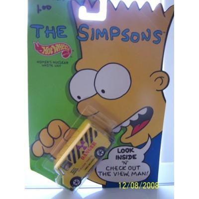 """Hot Wheels The Simpsons """"Homer's Nuclear Waste Van"""""""