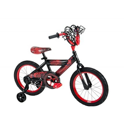 "Huffy Bicycle Company 21966 Boys Marvel Ultimate Spider-Man Bike, 16"", Black"