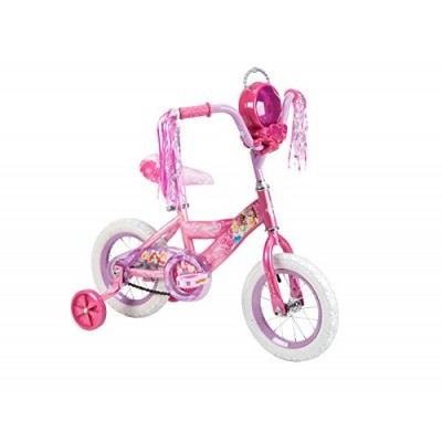 Huffy Bicycle Company Number 22455 Disney Princess Bike, Raspberry to Pink Fade, 12-Inch