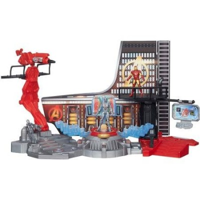 Marvel Avengers Age of Ultron Iron Man Lab Attack Playset for Age 4 Years and Up