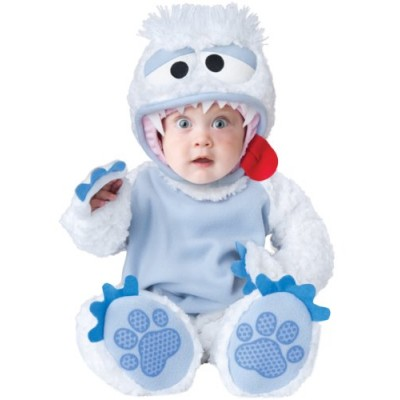 InCharacter Baby's Abominable Snowbaby Costume, Blue/White, Small