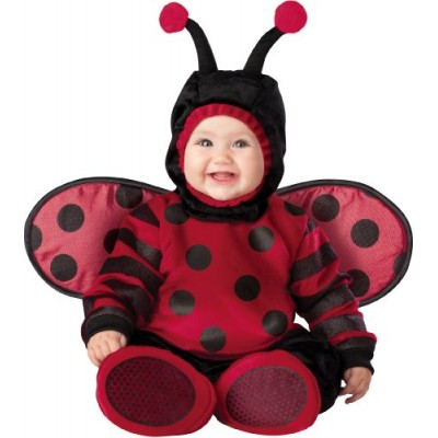 InCharacter Costumes Baby's Itty Bitty Lady Bug Costume, Red/Black, Large