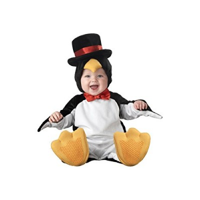 InCharacter Costumes Baby's Lil' Penguin Costume, Black/White/Yellow, Medium