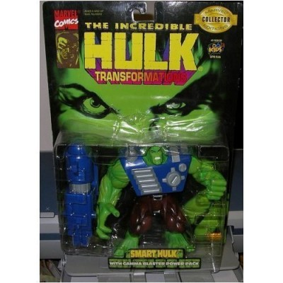 The Incredible Hulk: Transformations Smart Hulk with Gamma Blaster Power Pack