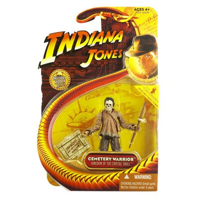 CEMETERY WARRIOR from Indiana Jones and the Kingdom of the Crystal Skull 2008 Action Figure & Accessories (Includes Indiana Jones Hidden Relic)