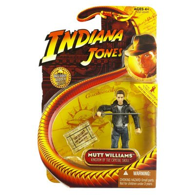 Indian Jones Mutt Williams Crystal Skull Action Figure with Jacket