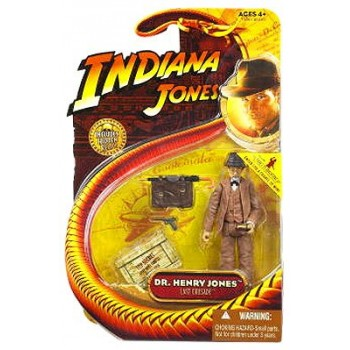 Indiana Jones 3 3/4 Inch - Dr. Henry Jones - Last Crusade