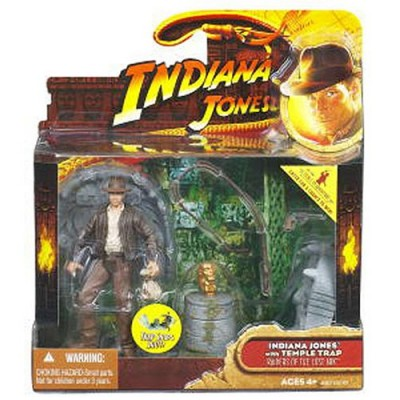 Indiana Jones Deluxe: Wave 1 Indiana Jones With Idol Floor Trap