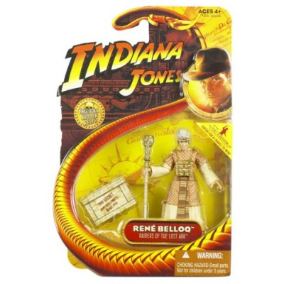 Indiana Jones Movie Hasbro Series 1 Action Figure Rene Belloq [Raiders of the Lost Ark]
