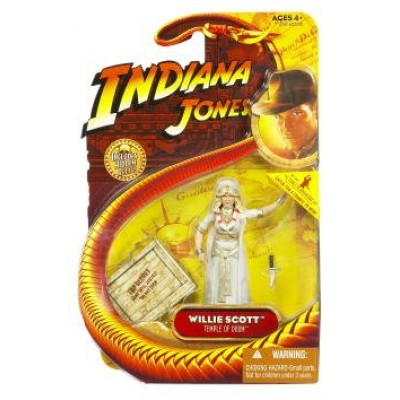 Indiana Jones Movie Hasbro Series 4 Action Figure Willie Scott (Kate Capshaw) (Temple of Doom)